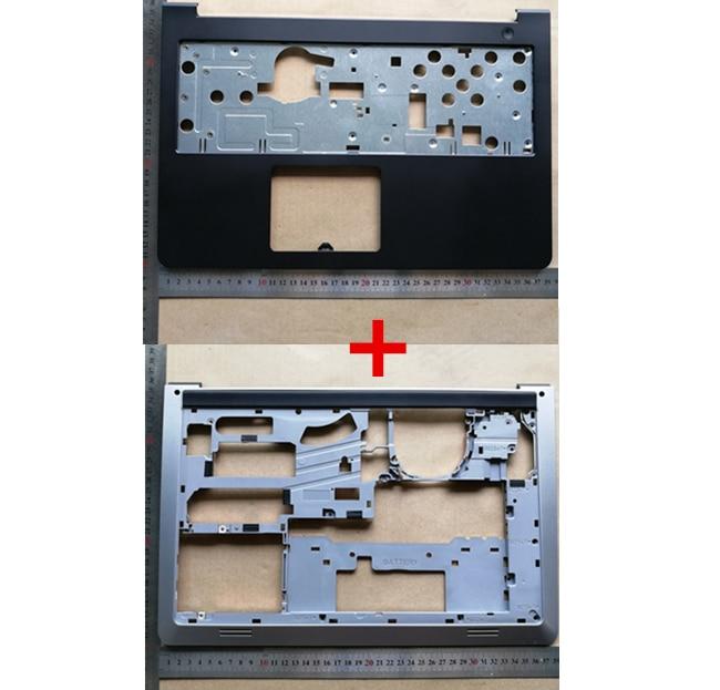 Novo Top Case Para Dell Inspiron 15 5000 5547 5548 5545 15-5557 Maiúsculas Palmrest K1M13 + Base tampa inferior Caso Inferior