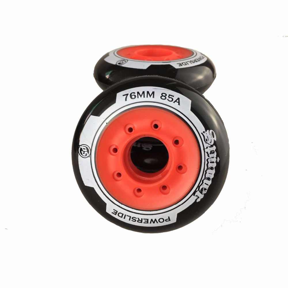 Image 4 - 80 76mm 85A Rollers for Inline Skates Slide Slalom Skates Wheels For Kids Adult Good as Powerslide Seba Patins Roller Wheel LZ25-in Scooter Parts & Accessories from Sports & Entertainment