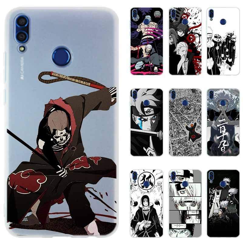 Naruto character <font><b>anime</b></font> <font><b>Honor</b></font> 20i 10i Phone Case Silicone Cover for <font><b>Huawei</b></font> <font><b>Honor</b></font> 10 <font><b>9</b></font> <font><b>lite</b></font> 9i 8a 8X Max 8C 7X 7A Pro 6X V20 PLAY image