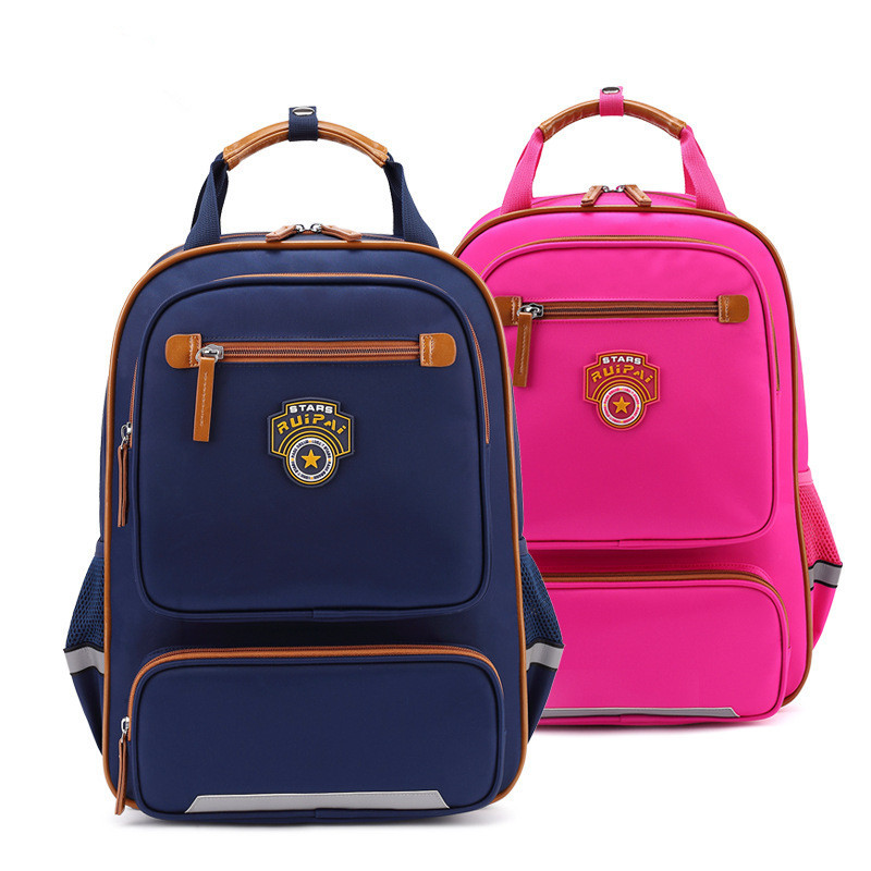 2018 new Children School Bags orthopedic school backpack for boys girls waterproof school satchel kids schoolbag bookbag mochila ...