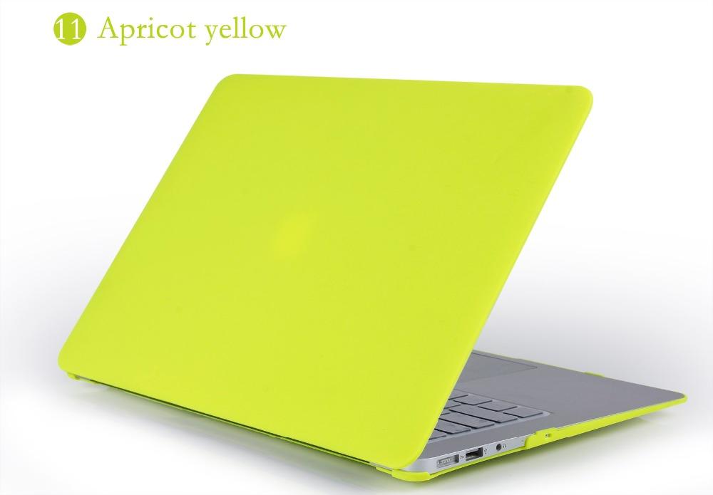 JUNWER CrystalMatte Transparent Case For Apple Macbook Air Pro Retina 11 12 13.3 15 For Macbook Air 13 A1932 Laptop Case Cover 28