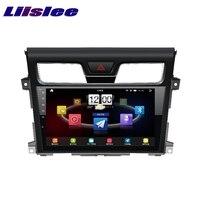Nissan Teana için 2013 ~ 2017 LiisLee Araba Multimedya TV DVD GPS Ses Hi-Fi Radyo Stereo Özgün Tarzı Navigasyon NAVI