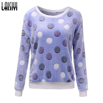 Laisiyi New 2017 Women Cute Print Hoodies Spring Autumn Long Sleeve Casual Sweatshirts Moleton Feminine Oversize LYHO1086