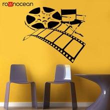 Movie Film Director Home Theater Actors Tape Chair Dorm Office Wall Decal Vinyl Sticker Art Decor Interior Studio 3R33