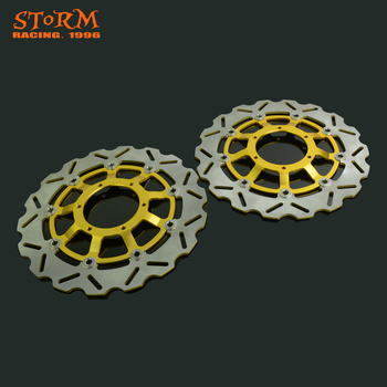 320MM Wavy Front Floating Brake Discs For Honda CBR1000RR CBR1000 RR CBR 1000RR 2008-2013 CBR1000RR ABS 2009 2010 2011 2012 2013