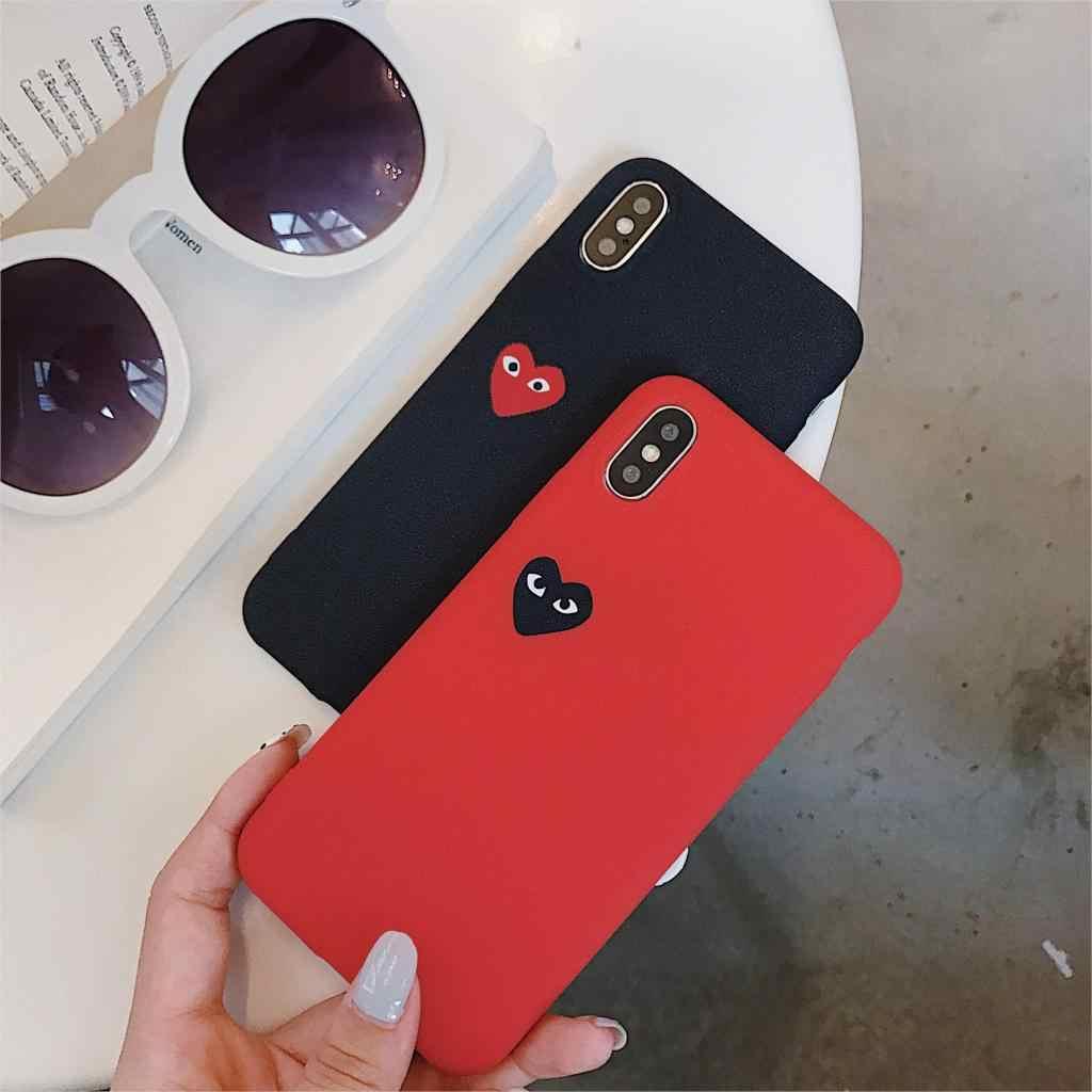 Comme Des Garcons Case For Iphone Xs Max Xr X 8 7 6 6s Plus