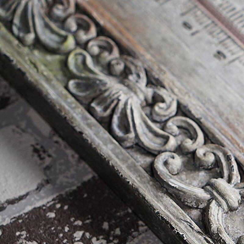 Barokke muur thermometer europese retro hars 3D stereo wanddecoratie thermografiek handwerk van woonkamer of cafes - 4