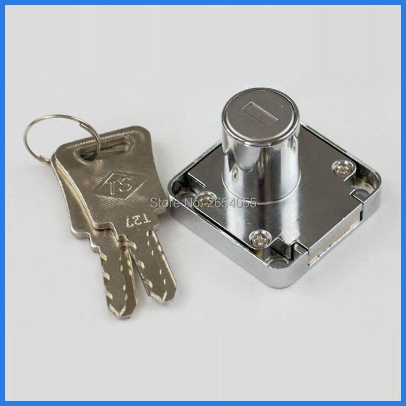 US $25.0 |5 stücke 22mm zylinder weit beliebte garderobe kommode schublade  schloss mit unterschiedlicher schlüssel-in Schlösser aus Heimwerkerbedarf  ...