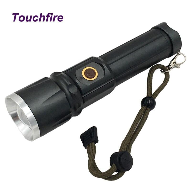 T6 Flashlights 26650 1200 LM tactical lights LED bulb Light lanterna Self Defense Torch zaklamp hunting lInterna Fishing Camp