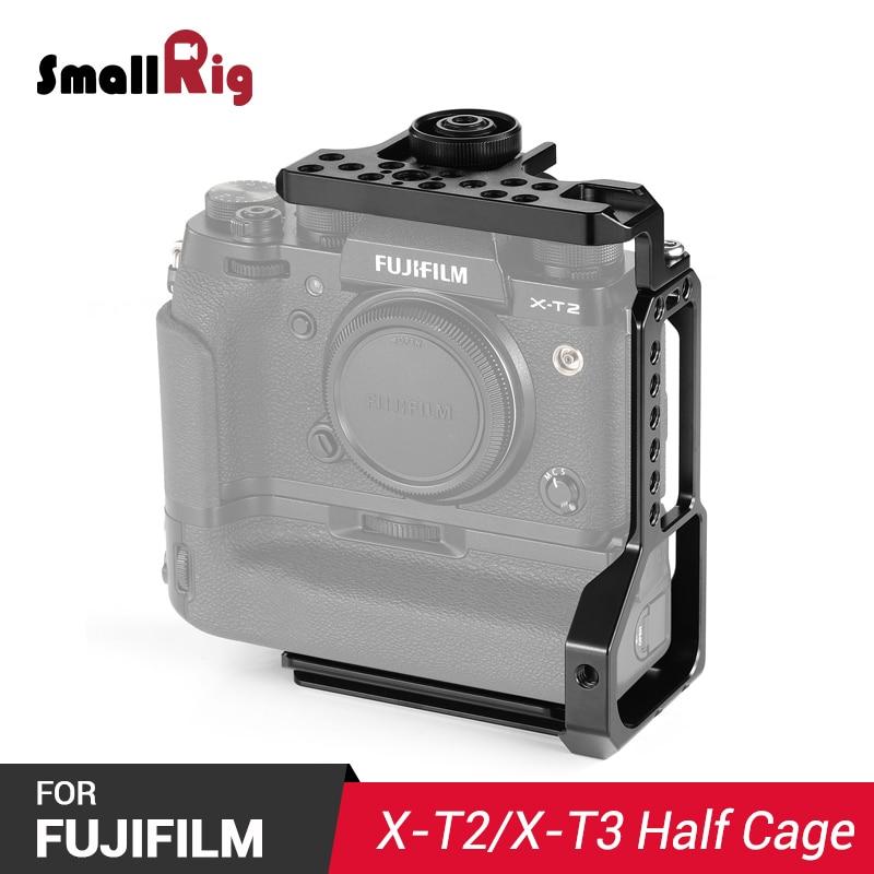 SmallRig L-Bracket Half Cage For Fujifilm X-T2 / X-T3 Camera With Battery Grip 2282