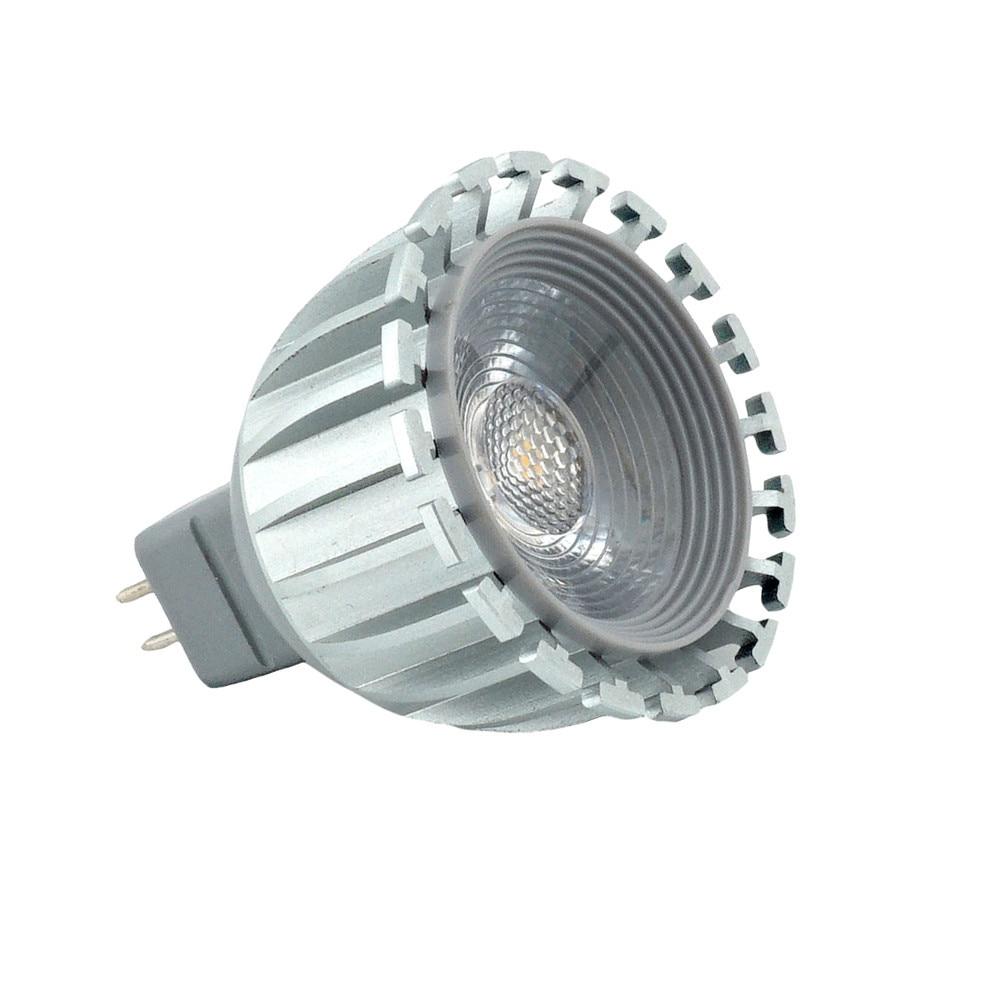 6W 12V G5.3 LED Light Bulb MR16 Bi-Pin Base Spotlight Lamp 500lm 38 Degree Beam Angle for Landscape Recessed Track Lighting 100mm glass lenses beam angle 120 degree for cree cxa3590 cxb3590 on led street high bay lamp