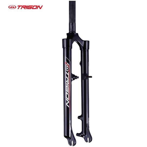 TRIGON MC08 full carbon fiber ultra-light mtb bike bicycle fork 26 27.5er  29er compatibole with V-brake and dics-brake black light bicycle roda mtb 29 carbon rear wheels