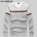 Hot Sell T-shirt Men Casual Male Top Tees Fashion Designer T shirt Homme Brand Clothing Printed T-shirt Long Sleeve Funny Tops