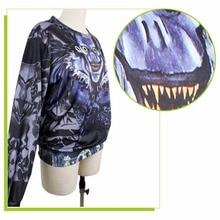 Women's Ryuk Shinigami Printed Sweatshirt