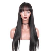 360 Синтетические волосы на кружеве al парик предварительно сорвал с для волос бразильский Прямо Синтетические волосы на кружеве натуральные