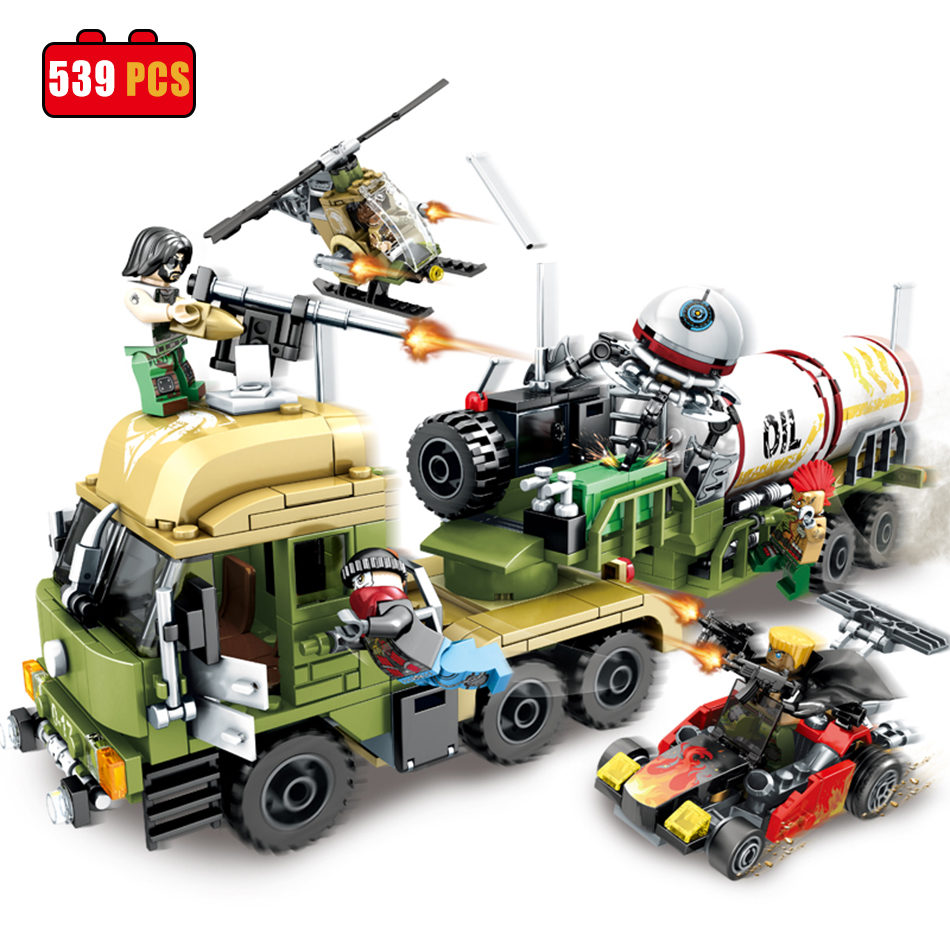 SEMBO block Military Oil Truck Educational Building Bricks Army Planes Helicopter Weapon Compatible Legoe Toys For Children Gift hot sembo block compatible lepin architecture city building blocks led light bricks apple flagship store toys for children gift