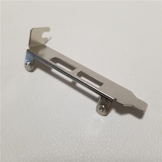 2 adet/grup düşük profil boyutu 2 Port USB 3.0 genişleme kartı arka braket koruma bölme şasi çerçeve