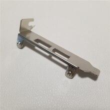 Tarjeta de expansión USB 3,0, 2 unids/lote, tamaño de perfil bajo, 2 puertos, soporte trasero, protección deflectora, bisel del chasis