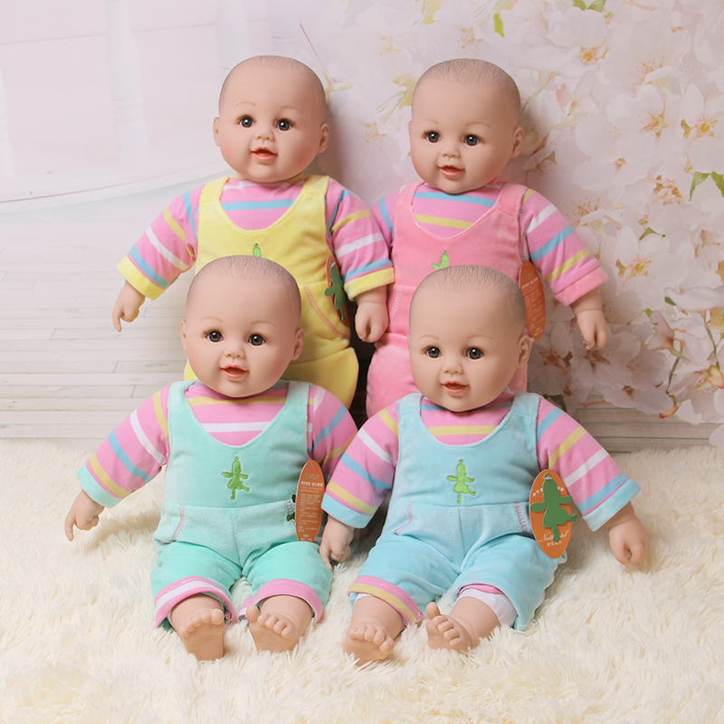 2016 New Commodity 50cm Silicone Reborn Baby Dolls Toy For