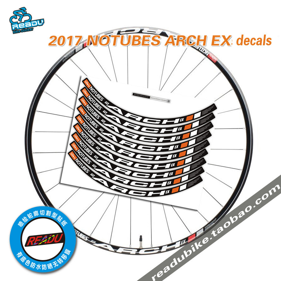 2016 Stans Notubes Arch Ex Berg Felge Aufkleber Mtb Fahrrad Felgen Decals Laufradsatz Aufkleber Fahrrad Aufkleber Für Zwei Räder Abziehbilder