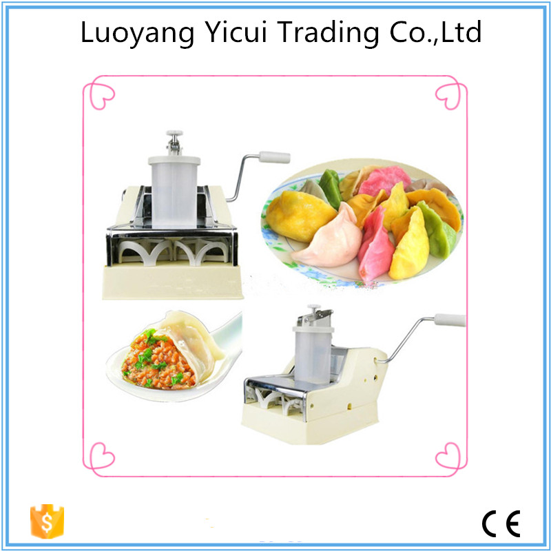 2017 New type manual dumpling machine with low energy cost and high efficiency low energy consumption dumpling maker machine