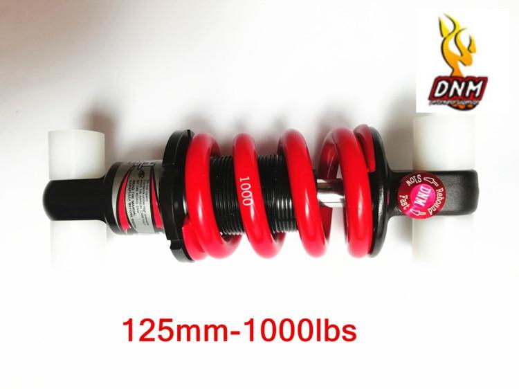 DNM Shock 125mm 1250 lb Pound Bike Adjustable Oil Spring Absorber 2
