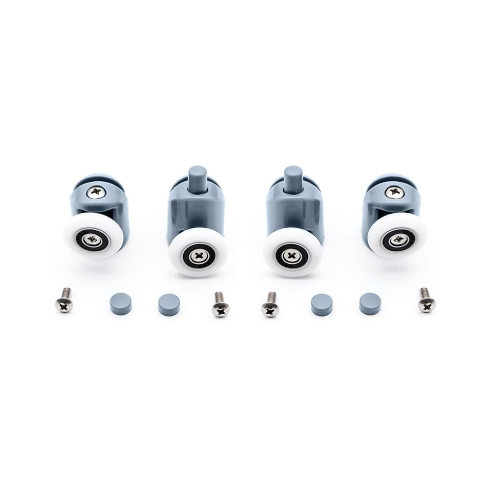 Купить 4 шт 8 шт/компл колесики для раздвижных дверей диаметр 23/25