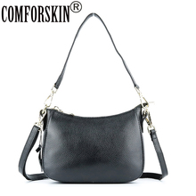 COMFORSKIN Brand Premium Womens Leather Messenger Bag Hot  Genuine Ladies Cross-body Bags New Arrivals Handbags