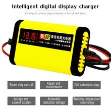 цены на Car Motorcycle Smart Battery Charger 12V 2A Full Automatic 3 Stages Lead Acid AGM GEL Intelligent LCD Display  в интернет-магазинах