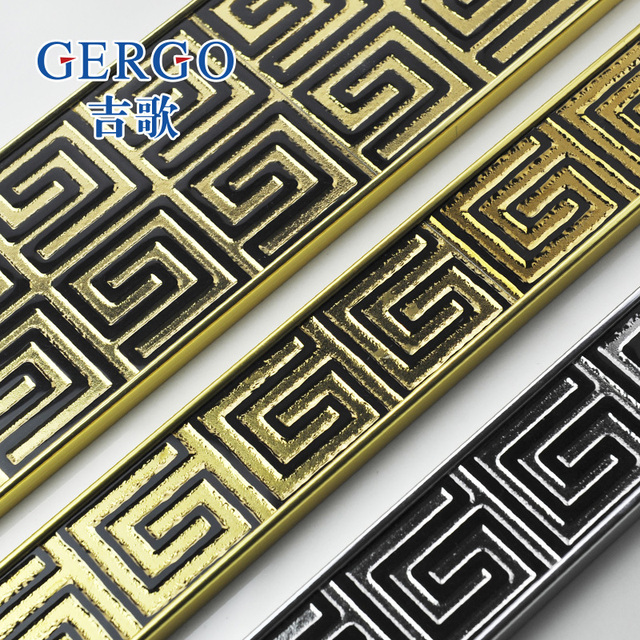 Gergo Ji canción mosaico de cerámica del azulejo frontera cintura ...