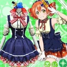 Lovelive! Конфеты милые девушки косплей Nozomi тодзио платье принцессы костюмы Janpanese аниме косплей носить