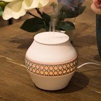 2018 120ml Aroma Diffuser Cap Ultrasonic Cool Mist Humidifier Essential Oil Diffuser Home Application Air Humidifier