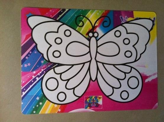 50pcs/lot, Color Sand art art painting set kit for