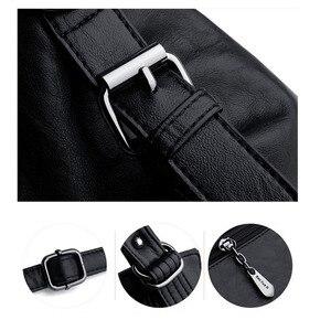 Image 5 - 大トートバッグの女性のショルダーバッグレディースソフトレザーハンドバッグ女性黒、赤、グレーダークブルーハンドバッグ2020嚢