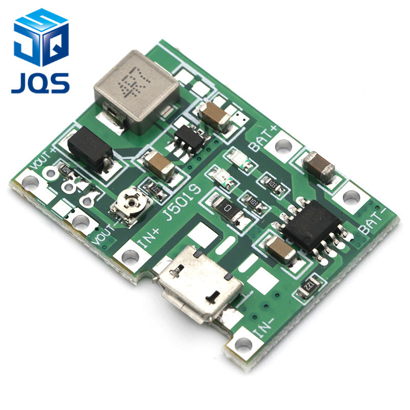 Lithium Li-ion 18650 3.7V 4.2V Battery Charger Board DC-DC Step Up Boost Module Integrated Circuits цена