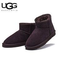 2018 Original New Arrival UGG BOOTS 5854 Women uggs snow shoes Winter Boots Women's Classic Short Sheepskin ugged women boots