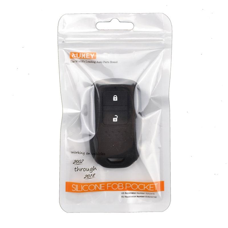 Image 5 - ホンダ HR V Vezel フィットジャズ市シビックアコードシリコーン Remote キーケース Fob Shell  ケースカバースキンホルダー 2 ボタン 2015 2018    グループ上の 自動車