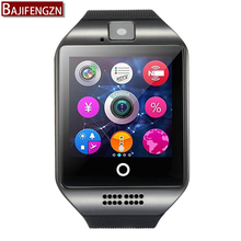 2017 hot q18 Bluetooth smart watch Andrews smart SIM card music fitness Bluetooth connection Andrews mobile phone PK U8 dz09