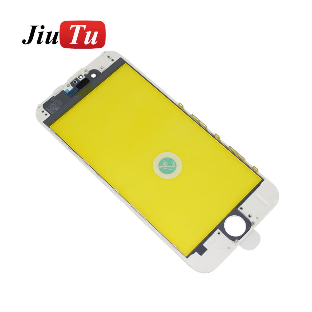 Jiutu 10pcslot Glass With Bezel Frame Cold Press For iPhone 6G6 Plus 6S6S Plus (1)