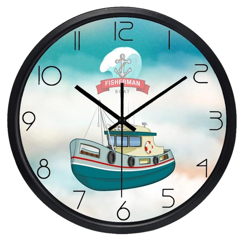 BRAND NEW FISHERMAN BOAT CLOCK