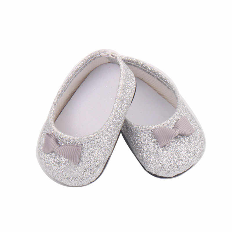 Baby Doll Cool Fashion Shoes Bowknot Dress Shoe For 18 Inch Our Generation Girl  Doll Accessory fc5174c07220