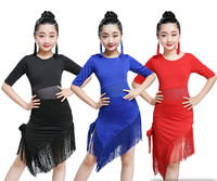 Обувь для девочек кисточкой Костюмы для латиноамериканских танцев платье для танцев Румба Самба Костюмы Обувь для девочек Salsa Платья для же...