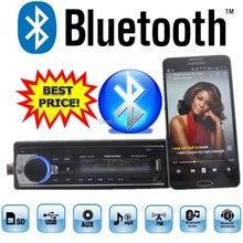Новый 12 В автомагнитолы тюнер стерео bluetooth fm Радио электронный MP3 аудио плеер USB SD MMC Порты и разъёмы автомобиля радио bluetooth в тире 1 DIN