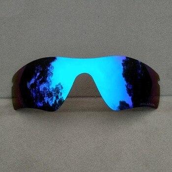 Ice Blue Mirrored Replacement Lenses for Radarlock Path Sunglasses Frame 100% UVA & UVB Anti-Reflective