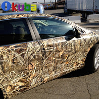 Grass Shadow Camo Vinyl Wrap Roll for Truck Jeep SUV Graphics Real Camo Tree Camouflage Vinyl Film Full Body Car Sticker 30m