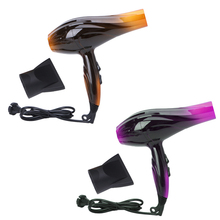 KEMEI Professional Salon Tools Blow Dryer Heat Super Speed Blower Dry Hair Dryers US Plug Gold/Purple