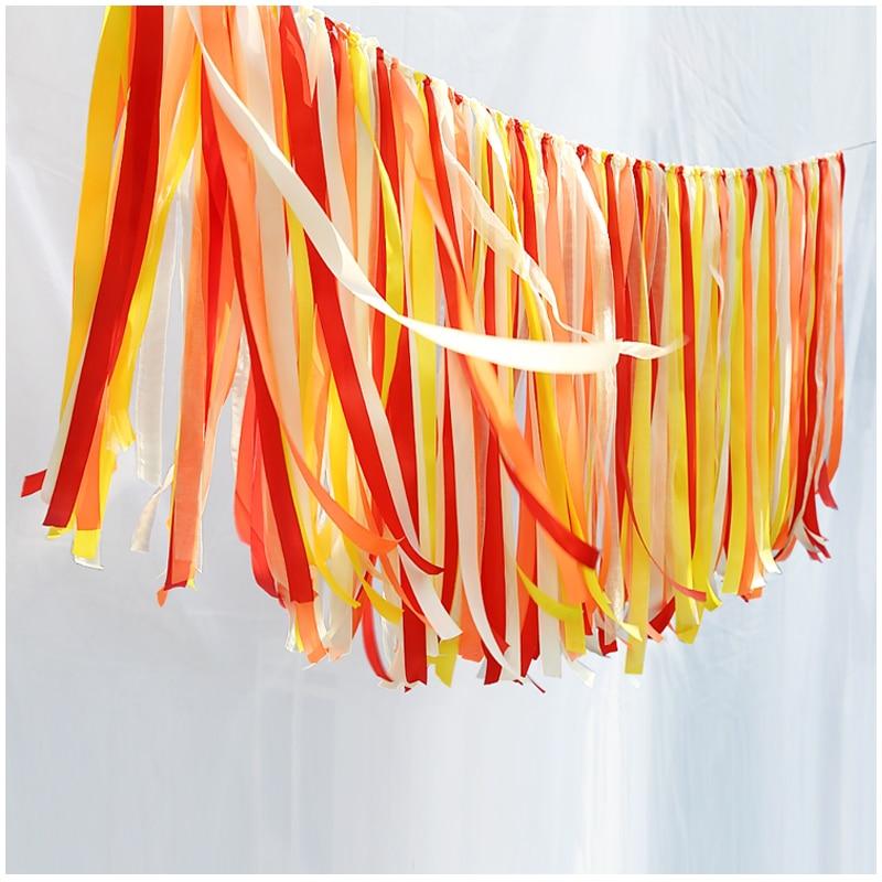 Mode kreative Farbband Höhe 0,35 m dekoriert Hintergrund Wand Band - Partyartikel und Dekoration
