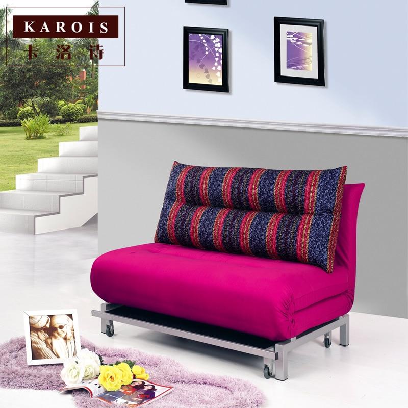 Modern minimalist living room sofa bed multi function ...