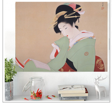 Decorative Wall Hanging curtain spread covers cloth blanket art tapestry Beach Towel Japanese traditional decor