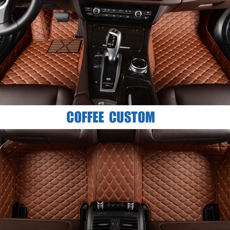 Custom car floor mats for Chevrolet Aveo Sail Trax Epica Cruze Camaro Captiva Malibu car styling floor mats carpet liners